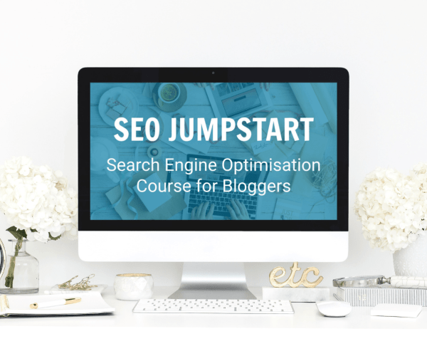 Want more blog traffic? SEO Jumpstart is a jargon free SEO Course for Bloggers. Learn how to use Search Engine Optimisation to grow your blog to the next level! #SEOJumpstart #SEOcourse #SEO #SEOtips #SEOhacks #blogging #bloggingtips #blogginghacks #searchengineoptimisation #searchengineoptimization #SEOforBloggers #SEOCourseforBloggers #jargonfreeSEOcourse #blogger #bloggrowth #blogtraffic #growyourblog #searchenginetraffic #passiveincome #productiveblogging
