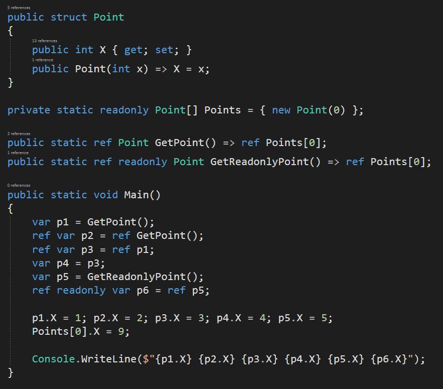 Fun with Ref returns quiz in C# 7.2
