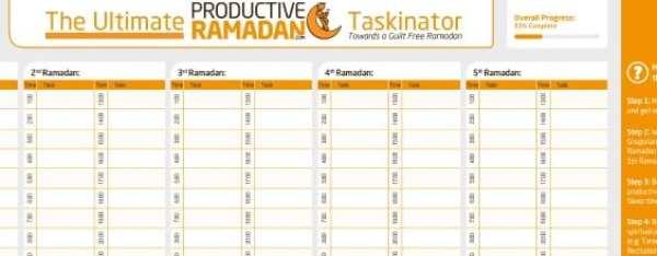 Ultimate Ramadan Taskinator