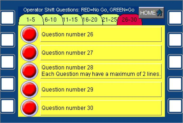 Drill Operator Questions 6