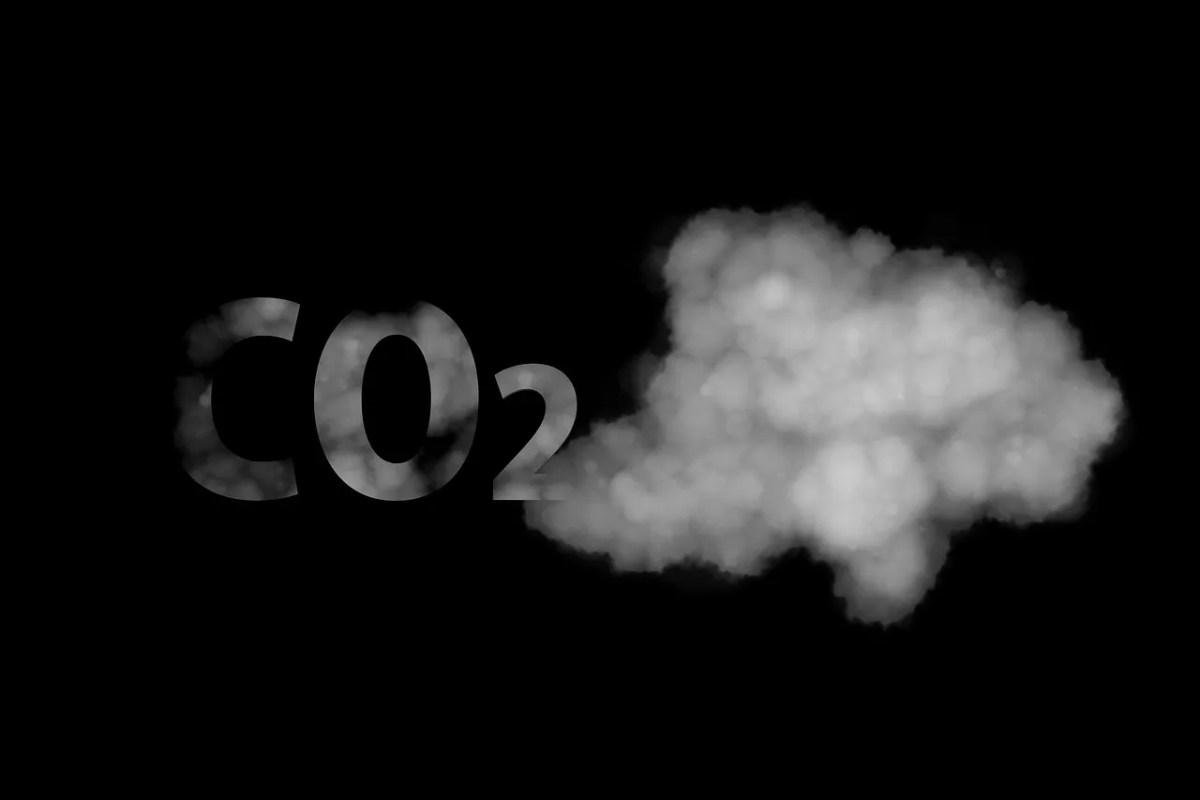 CO2 gas de efecto invernadero