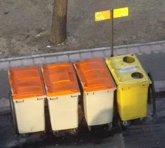 contenedores prerecogida