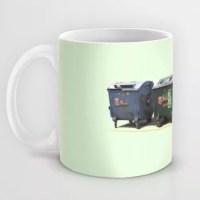 conetenedores en taza