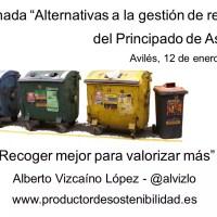 Alternativas gestión residuos asturias