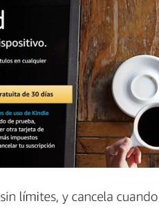 Kindle Unlimited prueba gratuita