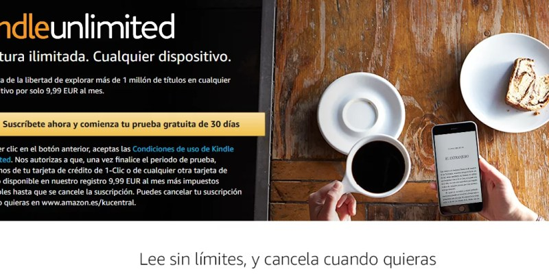 Kindle Unlimited prueba gratuita