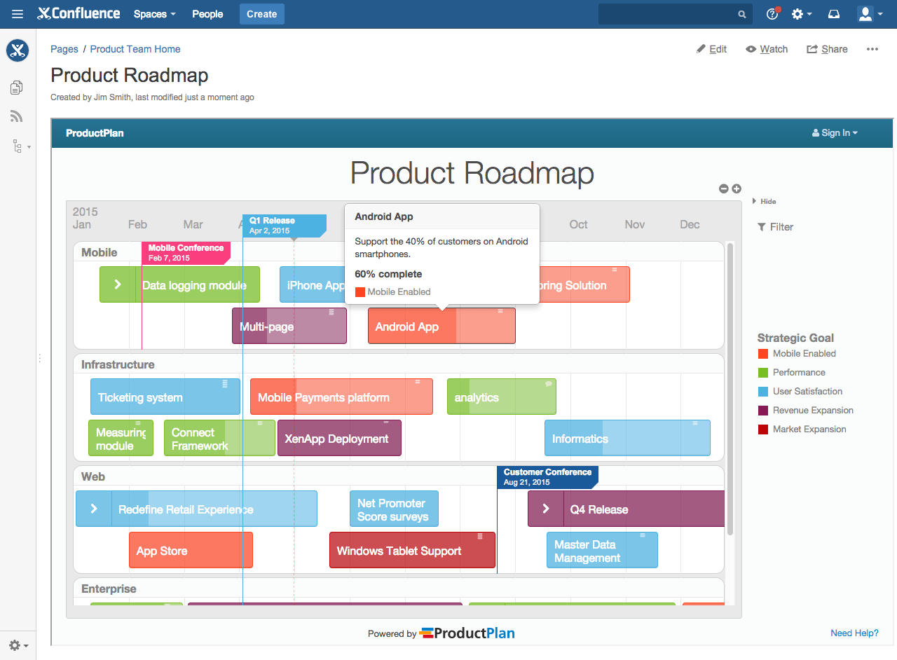 How To Embed Your Roadmap In Confluence