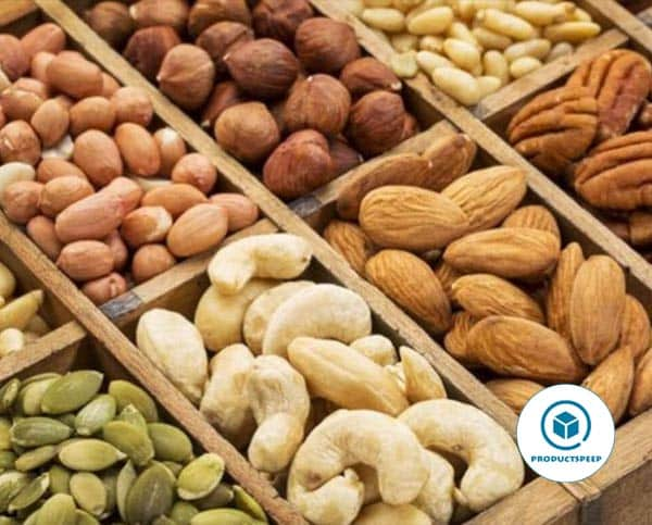 Nuts and Seeds - Fatty food for keto diet