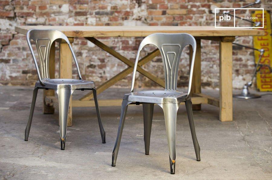 chaise tolix le design du style industriel