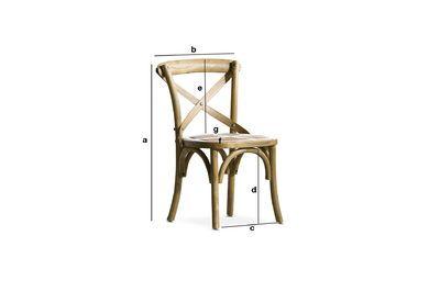 chaise pour enfant pampelune