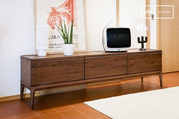 meuble tv en noyer hemet