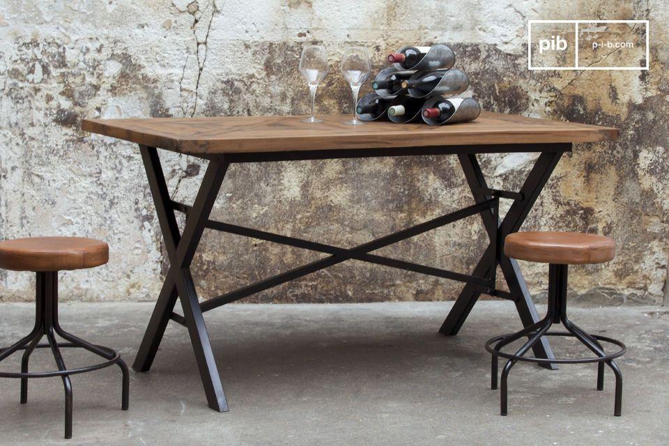 table industrielle cade 180 cm