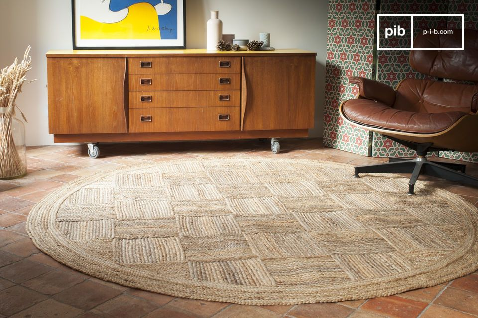 https www produitinterieurbrut com accessoires deco accessoires divers tapis rond en jute williams 0402701