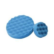 mousse alvéolé bleue