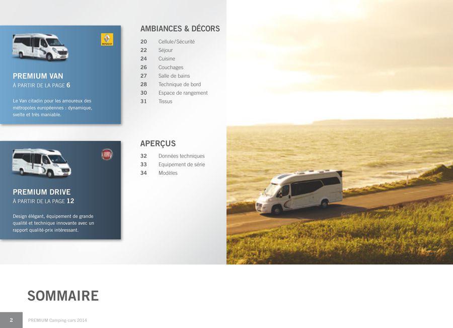 premium camping cars 2014 franzosisch von hobby caravan