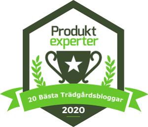 Basta Tradgardsbloggar badge