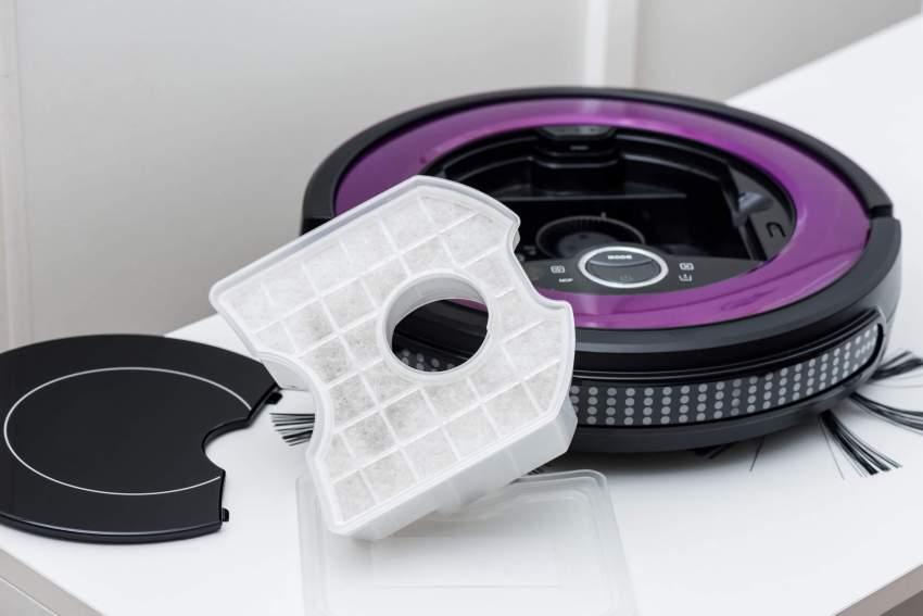 staubsauger roboter schmutzkasten
