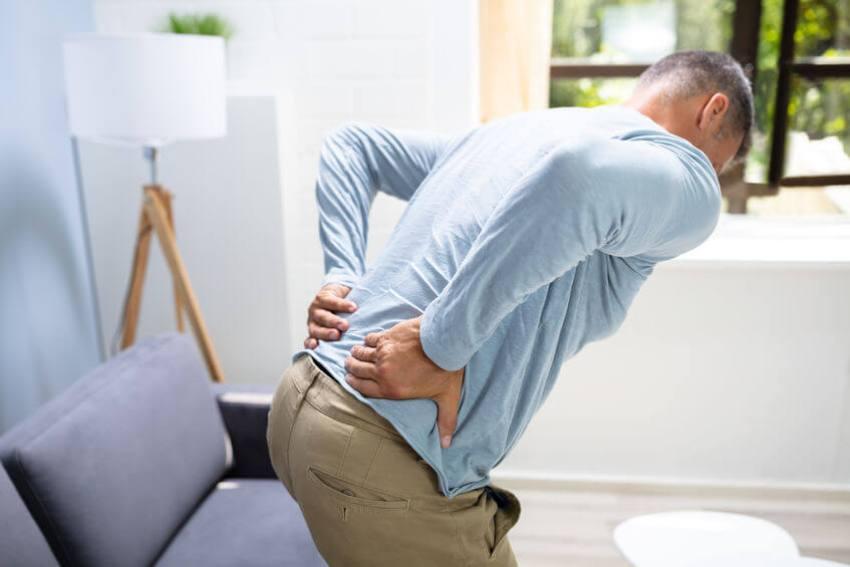 orthopädisches rückenkissen test