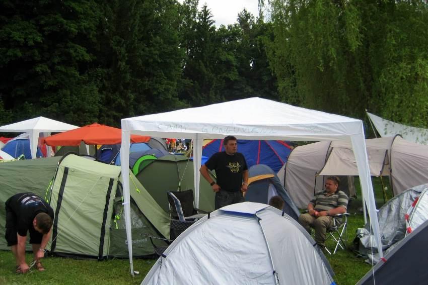 pavillon camping