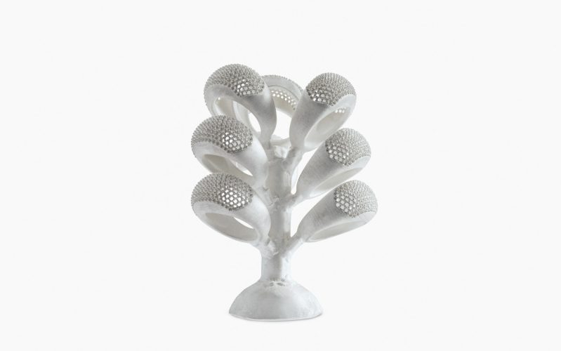 criar joias com impressão 3D arvore de aneis