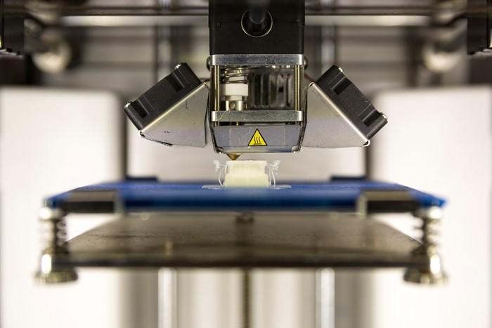 impressora 3d capaz de criar um proóotipo