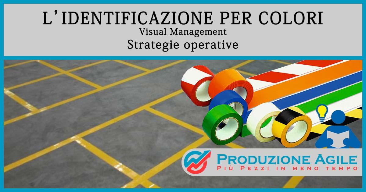 visual-management - segnaletica orizzontale colori