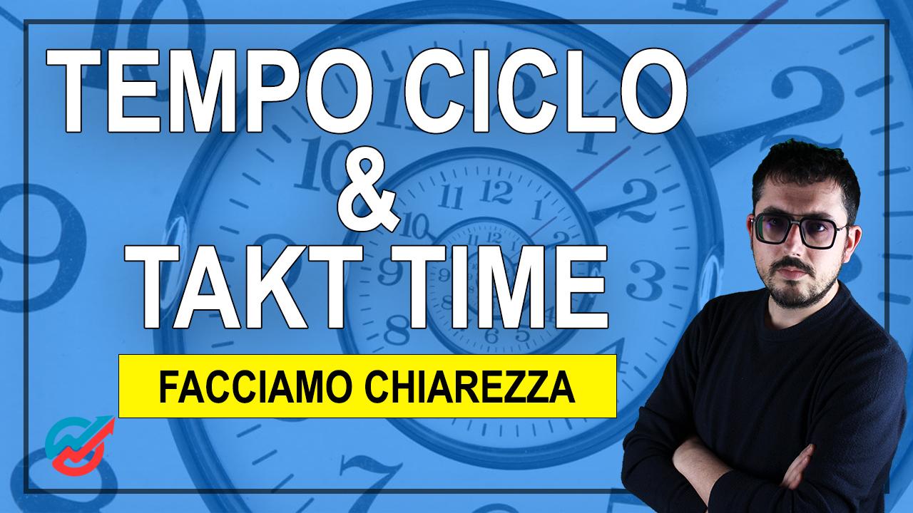 Tempo ciclo, Takt time, linee di produzione...parliamone insieme | Federico Barucca