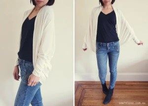 coccon shawl cardigan by sew in love