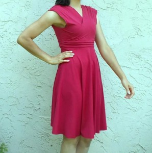Paula Dress via Sewing 4 Free