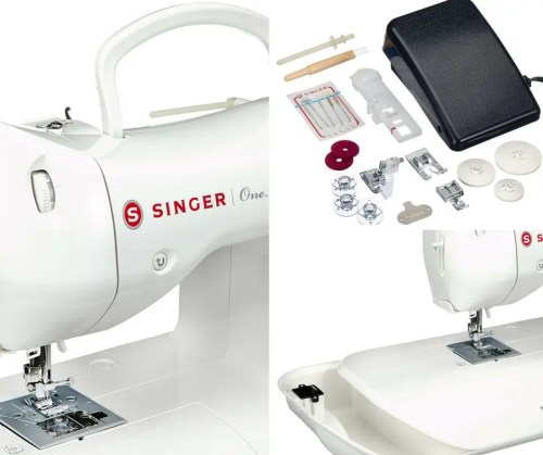 singer-one macchina da cucire accessori