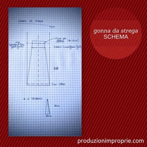 quality design 00e53 4c91e Tutorial cucito gonna lunga da strega (modello a sirena)