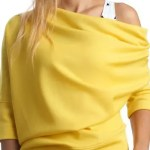 maglia gialla asimmetrica