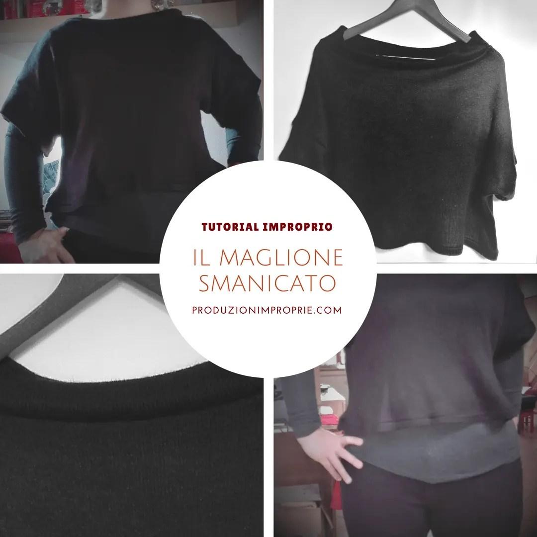 donna disabilità strutturali ultima vendita Dell'originale maglione smanicato - Tutorial improprio ...