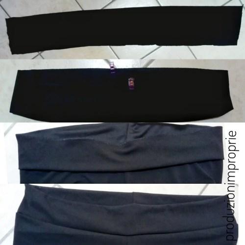 pantalone dritto cinturino