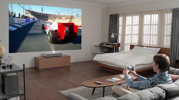 преимущества проекторов для домашних развлечений