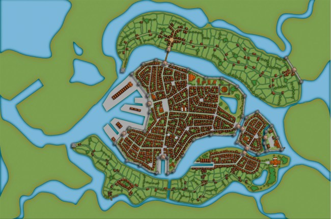 Profantasy's Map-making Journal » Blog Archive » Making a City part 4