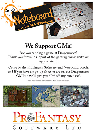 Dragonmeet GM Offer