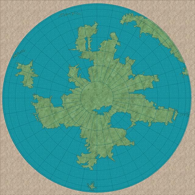 Orthogonal Polar Template