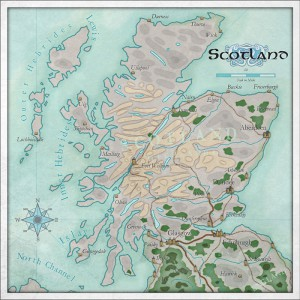 Example Map: Scotland