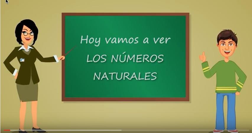 Los Números naturales, Primero de la ESO – Introducción