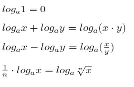 propiedades de los logaritmos ejercicios resueltos
