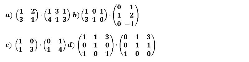 multiplicacion de matrices ejercicios resueltos 2 bachillerato
