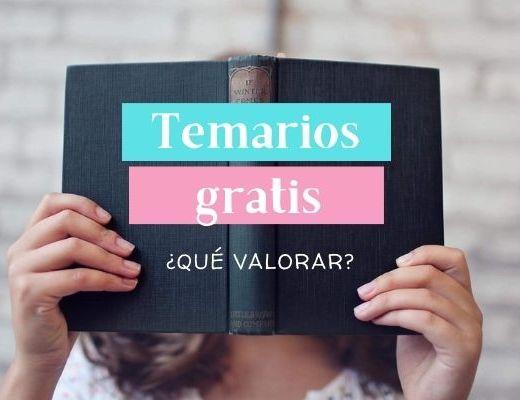 Muestras de temarios gratis para oposiciones de Lengua