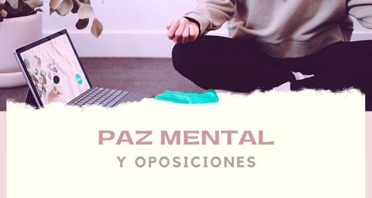 Meditación para opositores
