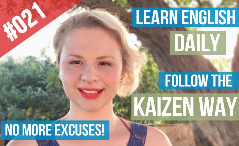 Aprender Inglés a Diario Sin Excusas  El Método Kaizen