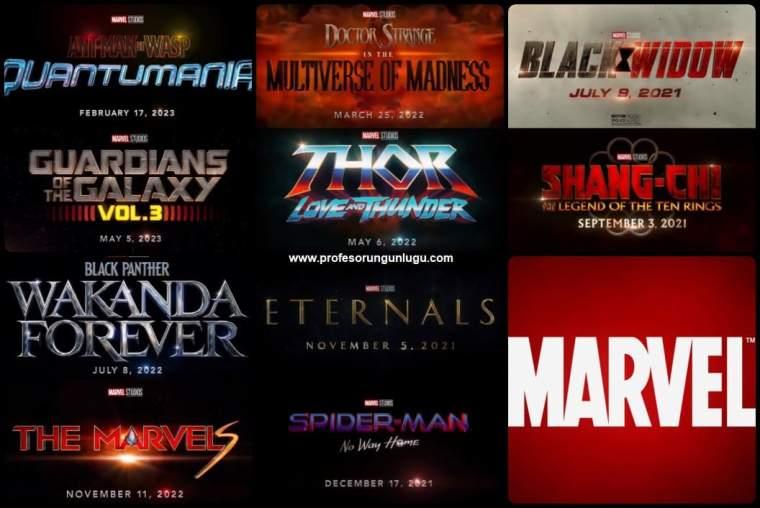2021-2023 Yilinda Vizyona Girecek Marvel Filmleri