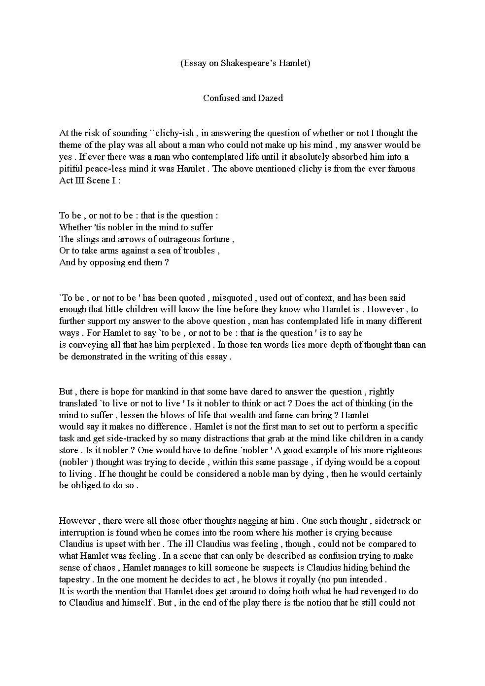 poem essays