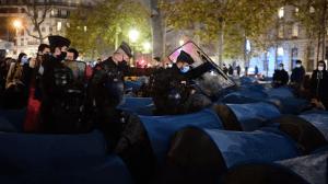 Pendant qu'on envoie nos collègues faire du maintien de l'ordre à Paris pour déloger des migrants manipulés par Hidalgo et Coquerel, les dealers volent un engin de chantier et détruisent du mobilier urbain supportant des moyens de vidéoprotection en toute tranquillité..