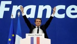 L' arrivée par fraudes graves de Macron à l'Élysée en 2017