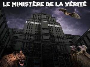 Gouvernement Mondial – Le Ministère de la Vérité